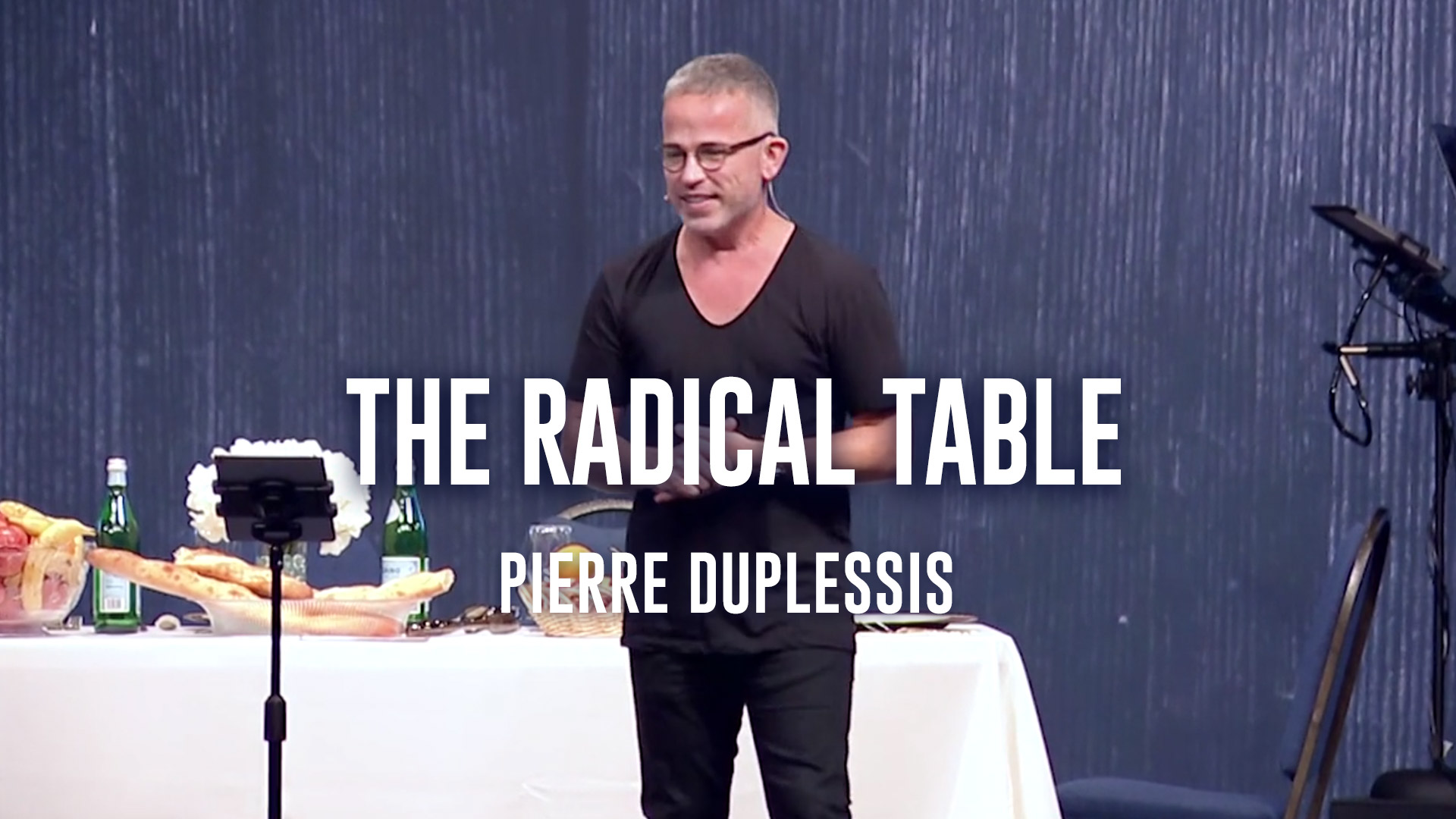 The Radical Table - Pierre du Plessis